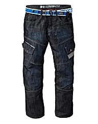 Crosshatch Cargo Jean33In Leg Length