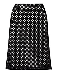 JAMES LAKELAND CUTWORK SKIRT