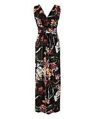 Grace Empire Line Floral Maxi Dress