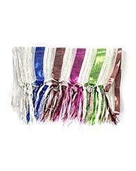 Foil Stripe Scarf