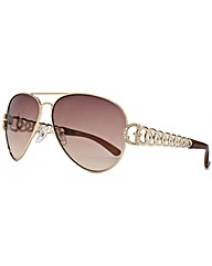 Guess G Chain Aviator Sunglasses