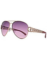 Guess G Chain Aviator Sunglasses