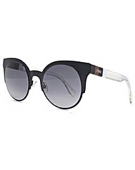 Fendi Round Metal Cateye Sunglasses