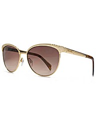 Just Cavalli Peaked Round Sunglasses