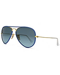 Ray-Ban Full Colour Aviator Sunglasses