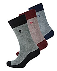 Pierre Cardin Pack of 3 Feeder Socks