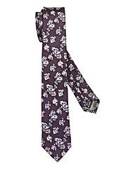 Kensington Skinny Silk Paisley Tie