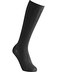 Cosyfeet Cotton-rich Knee High Socks