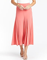 Soft Jersey Skirt Length 32in