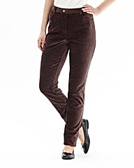 Pull on Cord Trousers Length 27in