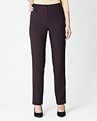 Tab Detail Trouser Length 27in