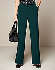 Straight Leg Trouser Length 25in