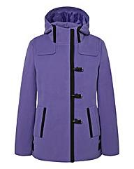 Contrast Detail Duffle Coat