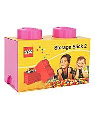 Lego Stackable Storage 2 Brick Box