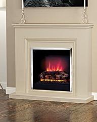 Be Modern Stanton Almond Fireplace