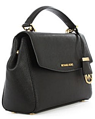 Michael Kors Small Black Satchel Bag