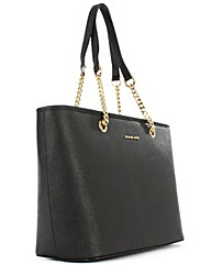 Michael Kors Black Saffiano Tote Bag