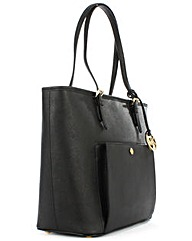 Michael Kors Large Black Logo Tote Bag