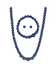 Mood pearl and crystal jewellery set