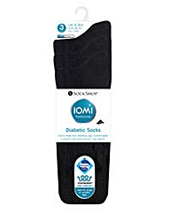 3 Pair Cushion Foot Diabetic Socks