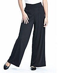 Petite Palazzo Trousers Length 25in
