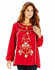 Embroidered Follk Blouse