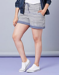 Simply Be Textured Drawstring Shorts