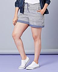 Simply Be Textured Drawstring Shorts