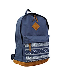 New Rebels MN Aztec Large Nylon Backpack