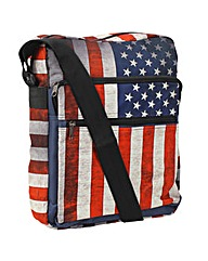 New Rebels USA  Vertical Courier Bag