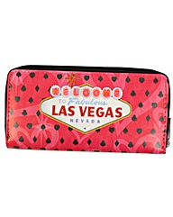New Rebels Vegas Pink Wallet Purse