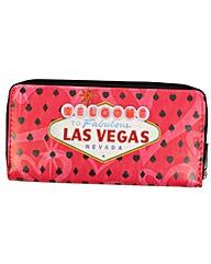New Rebels Vegas Pink Wallet Purse