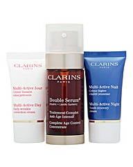 Clarins Serum and Cream Set