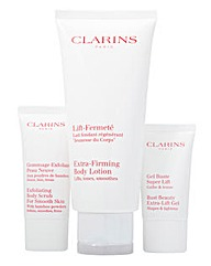 Clarins Lotion, Scrub and Gel Set