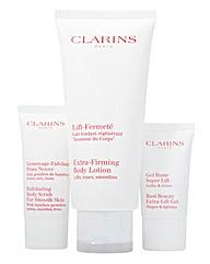 Clarins Lotion, Scrub and Gel Set