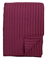 Stitch Quilted Throw 150 x 200cm