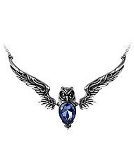 Alchemy Gothic Stryx Owl Necklace