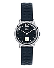 Orla Kiely Ladies Navy Strap Watch
