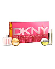 DKNY Ladies Mini Fragrance Set