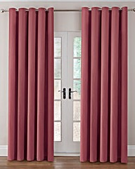Thermal Velour Eyelet Curtains