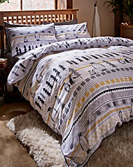 Penguins Printed Duvet Cover Set