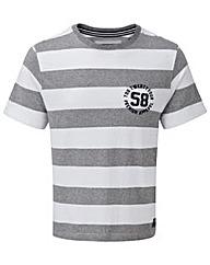 Tog24 Miller Mens Deluxe Stripe T-Shirt