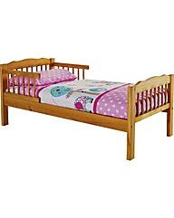 Toddler Bed Frame  Antique Pine