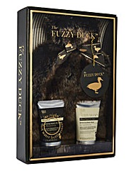 Fuzzy Duck Hot Water Bottle Gift Set