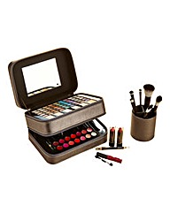 Body Collection Cosmetic Case & Brushes