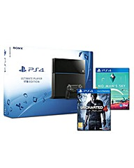 PS4 1TB Console  2 Games