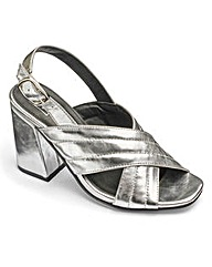 Sole Diva Crossover Sandals EEE Fit