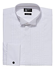 &City Tall Double Cuff Dress Shirt