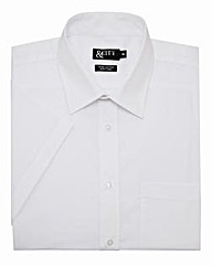 &City Mighty Half Sleeve Plain Shirt