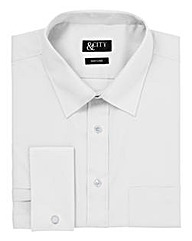&City Mighty Double Cuff Easycare Shirt